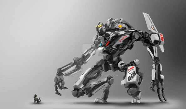 Cat robot 170312 S by mansonCH