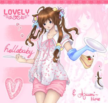 -Colour Contest Entry- LOVELY by Azuumi-Hime