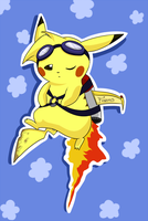 Fazos the Flying Pikachu by Nestly