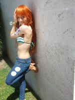 Nami 2 years later , One Piece time skip cosplay by Mellorineeee