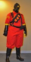 Pyro Cosplay Front by MasqueradeLover