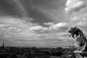 Parisian Gargoyle by HeatherHorton