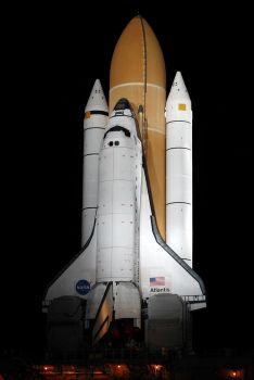 Final Shuttle Rollout by OpticaLLightspeed