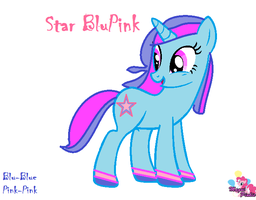 Star Blupink by MaguiPinkie