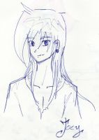 Joey, sketch by Kanivah