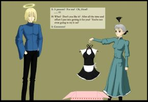 In Which Sophie Gets a Present by sandrose
