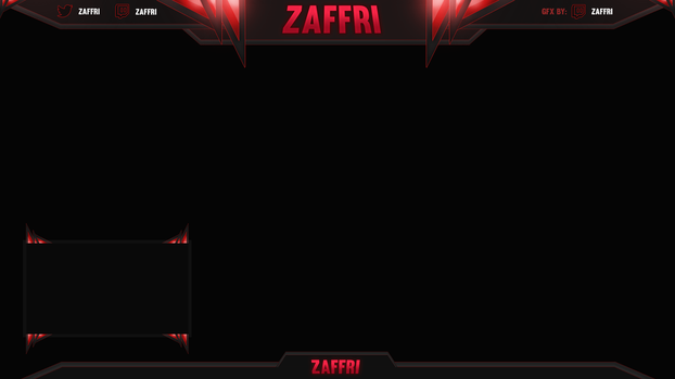 First Twitch Overlay by Kinetic9074