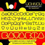 bavaria font by weknow