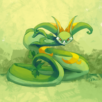 SD 10122013: Serperior by mopomoko