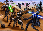 The Clone Wars by AraxussYexyr