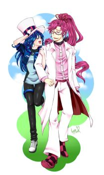 PC: Pink And Blue In Love by mino-the-cat