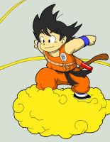 G is for Goku by Doomami