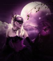Pull away the veil by AnnMLoveArt