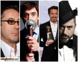 Many Faces of Robert Downey Jr by TheSoloist01