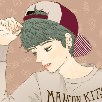 Snapback boy by Jokeroon02