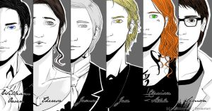 The Infernal Devices and The Mortal Instruments by yukihime-san