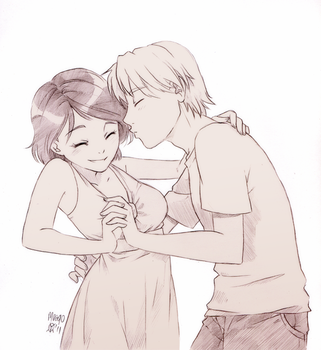 Kiss me by meago