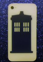 Doctor Who Tardis inspired Vinyl Decal by Drgibbs