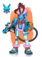 Dva + Mei Mashup | Overwatch by Neexz