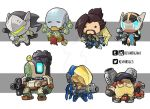 Tiny Overwatch Group 02 by KevinRaganit