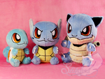 Squirtle Family by FeatherStitched