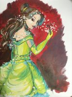 [Acrylic] Belle by CeloTheImpossible