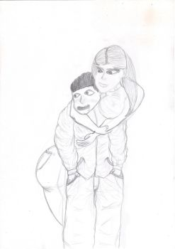 Courtney and Kenny Request by SketchyOne