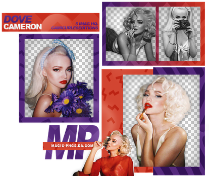 PACK PNG 939  DOVE CAMERON by MAGIC-PNGS