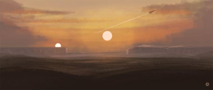 Color Studies - Desert Sunset by workofk