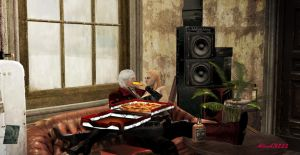 Free time at the Devil May Cry by AlexiaC3222