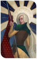 Dragon Age Inquisition card by TerinCat