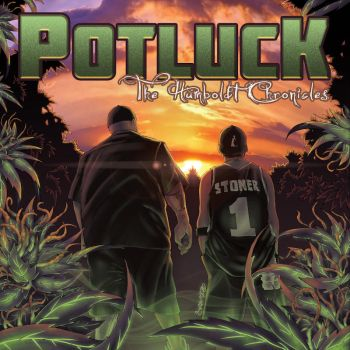 Potluck - The Humboldt Chronicles LP by SKAM2
