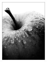 Apple Black and White by The-Definition