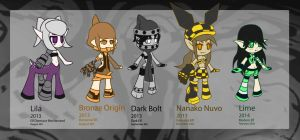 Chibi Original Character Collection Part 6 by Chinnaru