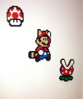More Mario Mosaics by gloriouskyle