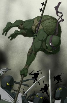 D is for Donatello by doubleleaf