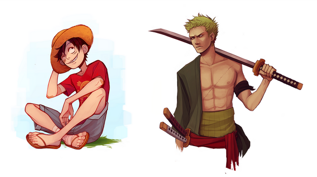 One Piece fanart by Naimane