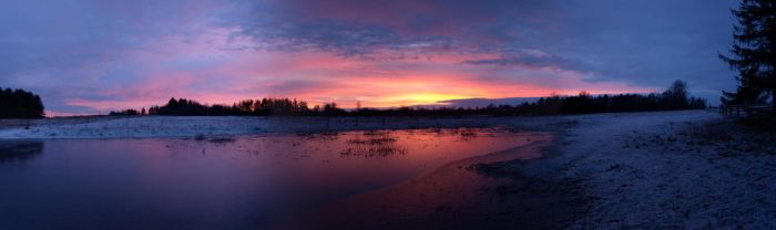 And then the Sun set (panorama version) by lars314