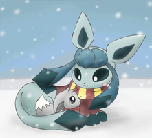 Glaceon and Eevee