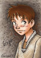Gregor - copic trading card by bdevries