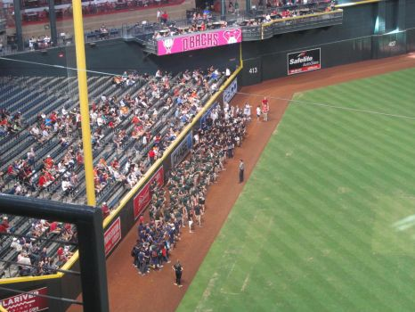 2017 Band Day at Chase Field by BigMac1212