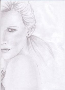 Claudia Schiffer by Flus